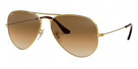 RB3025 AVIATOR LARGE METAL 001/51