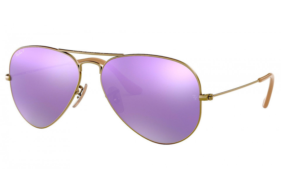 Ray-Ban AVIATOR LARGE METAL RB3025 167/1R POLARIZED