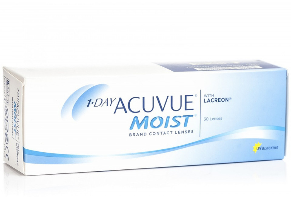 ACUVUE 1 DAY MOIST BC 8,5