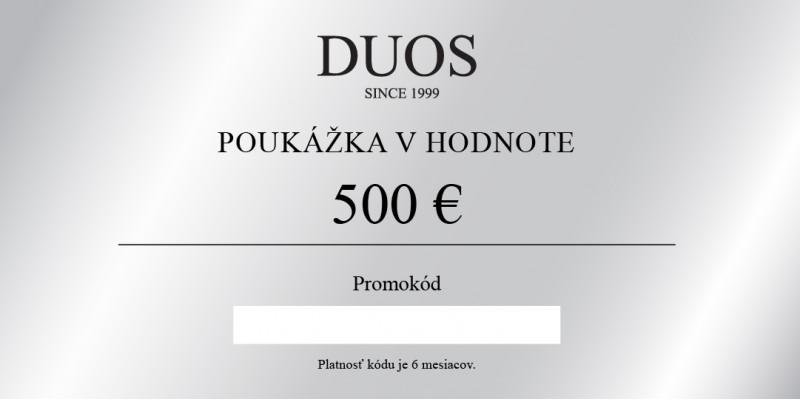Digitálna darčeková poukážka 500€