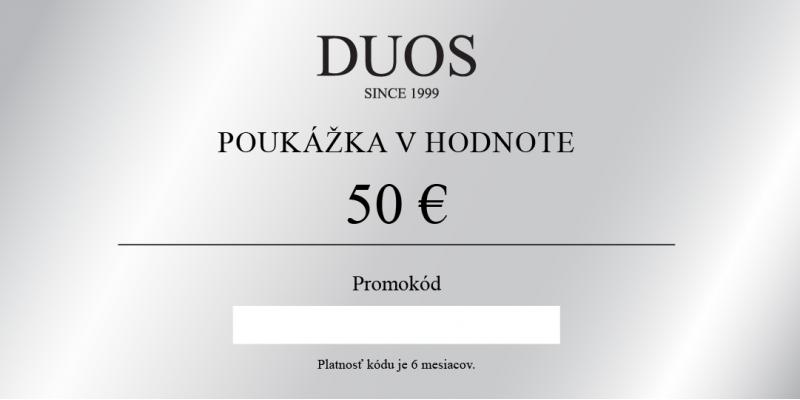 Digitálna darčeková poukážka 50€